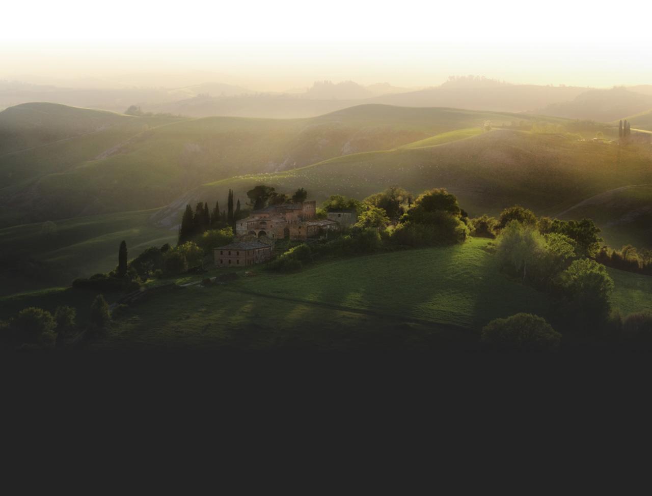 Image of an Italian hillside